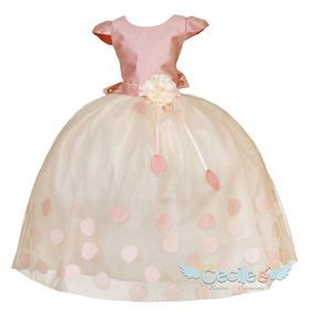 Vestido Elegante Hermoso Ceremonia Niña,022