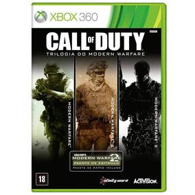 Call Of Duty Trilogia Modern Warfare - Xbox 360 - M Fisica