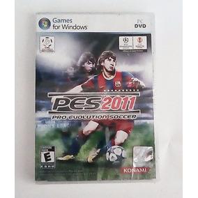Pes2011 Pro Evolutión Soccer For Windows Pc (envío Gratis)