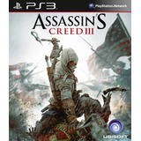 Assassins Creed 3 Ps3 | Digital Tenelo Chokobo