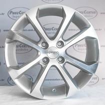 Roda Aro 15 Réplica Gol Power 2011 Prata C/ Face Diamantada