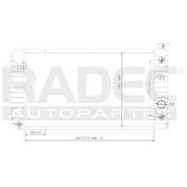 Radiador Chevrolet Blazer 1992-1993-1994 V6 4.3 Lts Auto