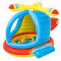 Pelotero Juego Infantil Inflable Helicoptero Bestway Ff