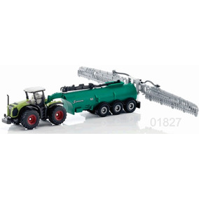 Siku Tractor Con Tanque Aspersor 1/87 Metal Diecast
