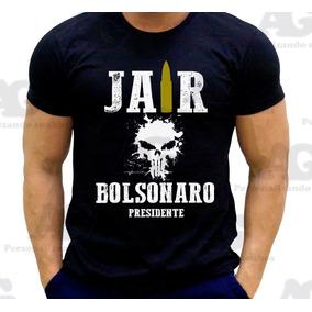 e6f658cdb591e Camiseta Bolsonaro Algodao Tamanho P - Camisetas Manga Curta para ...