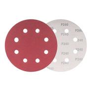Disco P/ Lixa Vonder Lpv750 Grão 240 C/ 10 Unidades