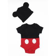 Pañalero Disney Mickey Mouse Gorro Original Disfraz Bebe5603
