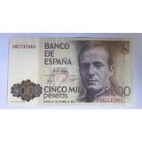 Billete 5000 Pesetas Banco De España 1979 Envio Gratis
