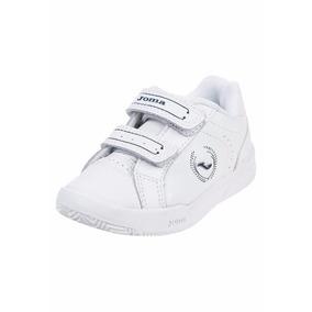 Zapatillas Joma Escolar Niño Nº22 Blancas