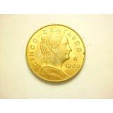 Moneda 5 Centavos Josefa Ortiz Fecha 1969 Bronce