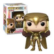 Pop! Funko Mulher Maravilha Gold 323 | Wonder Woman Ww 1984