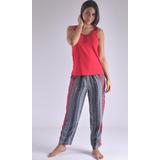 Pijama Multiuso Pantalón Largo Manga Sisa Femenina C8915
