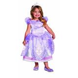 Disfraz Chica De Disney El Primer Traje De Lujo Sofia, 3t-4