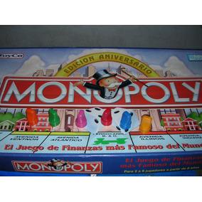 Monopoly Edicion Aniversario - P E O N E S X 6 Un