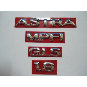 Emblema Astra + Gls + 1.8 + Mpfi - Mmf Auto (99/2002)