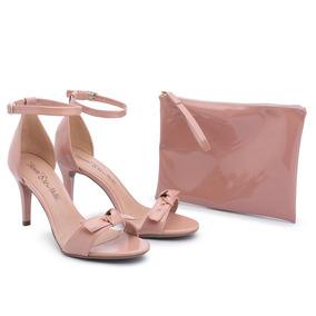 Bolsa Larissa Manoela Nude Sandalias - Sapatos no Mercado Livre Brasil 684bf89eb5