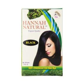 Hannah Natural 100% Libre De Químicos Del Tinte Del Pelo, Ne
