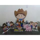 Fazendinha 10 Displays De Mesa Decoração Festa Infantil