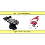 Lavatorio Italiano + Cadeira Futurama Kit Cabeleireiro