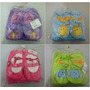 Pantufa E Manta Cobertor Infantil Varias Cores Para Seu Bebe