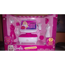 Caja Registradora De Barbie Original De Mattel