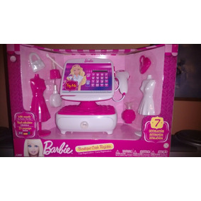 Caja Registradora De Barbie Original De Mattel