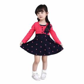 Vestido Pink Com Preto Princesa Menina Infantil