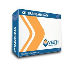 Kit Tração Relação Transmissão Yamaha Fazer 250 Velth