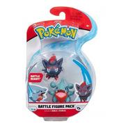 Pokémon Figuras De Ação Gible E Zorua  - Figure Pack Sunny