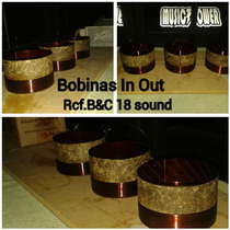 Bobinas In-out Rcf Prv Eighteen Sound