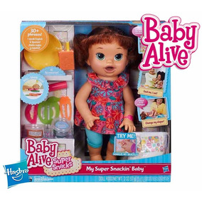 Boneca Baby Alive Comilona Hasbro 100% Original Ing E Esp