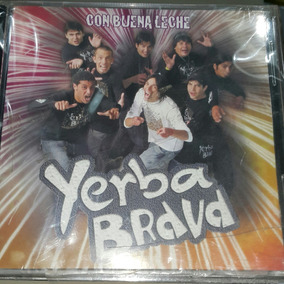 Cd Cumbia Villera Yerba Brava Con Buena Leche