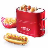 Tostador Maquina Para Hot Dogs Nostalgia Electrics Retro