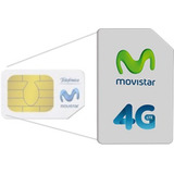 Chip Movistar 4g - Red Technology + Envío Gratis!!