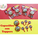 Capacillos Mickey Mouse Porta Cupcakes Porta Ponque Mickey