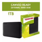 Disco Duro Externo Toshiba 1 Tb Usb 3.0