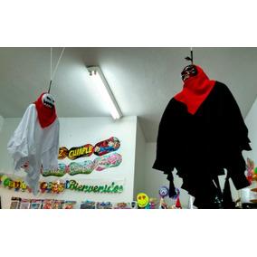 Muñeco Tela Colgante Calavera Decoración Halloween