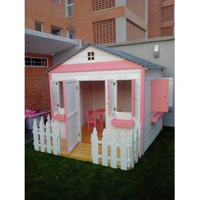 Casa Juegos Niños Madera Jardines Parques Preescolares Guard