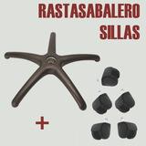 Estrella Para Sillas/sillones + 5 Ruedas