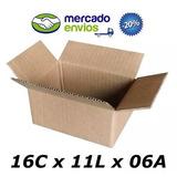 50 Caixas Papelão Correio Sedex Pac16x11x6 Preço De Fabrica