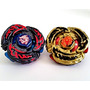 Juguete 2x Beyblades Conjunto, L-drago Destructor Oro Blind
