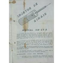 Manual Injetor De Sinais Sm-28a Pdf