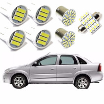 Kit Lâmpada Led Corsa Sedan 2007 2008 2009 2010 2011 2012