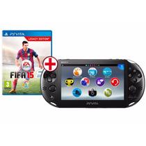 Ps Vita - Psvita Wi-fi + Jogo Fifa 15 Soccer Pronta Entrega