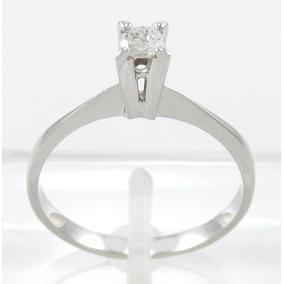 Esfinge Jóias- Solitário Diamante 15 Pontos Aro15,5 Ouro 18k