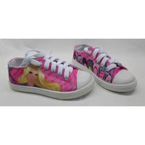 Zapatos Infantiles De Niña Barbie