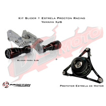Kit Slider Procton Racing Yamaha Xj6 N F - 2 Peças