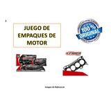 Juego Empaque Motor Chevrolet Super Carry, Carry Van