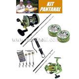 Kit De Pesca Pantanal - 8 Produtos