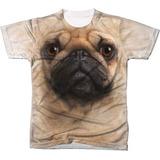 Camisa Camiseta 3d Animal Cachorro Dog Cão Pug